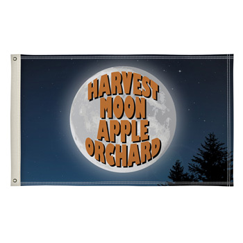 Double-Sided Polyester Flag - 2' x 3'