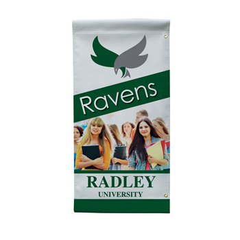 "18 oz. Opaque Vinyl 1-Sided Boulevard Banner - 18"" x 36"""