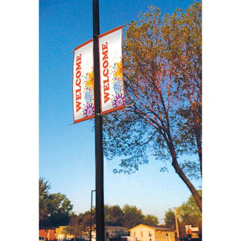 "18 oz. Opaque Vinyl 2-Sided Boulevard Banner - 24"" x 36"""