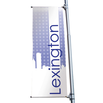 "18 oz. Opaque Vinyl 1-Sided Boulevard Banner - 24"" x 60"""