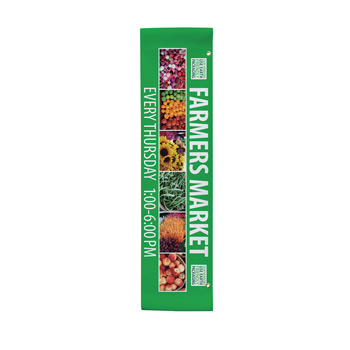 "18 oz. Opaque Vinyl 1-Sided Boulevard Banner - 24"" x 96"""