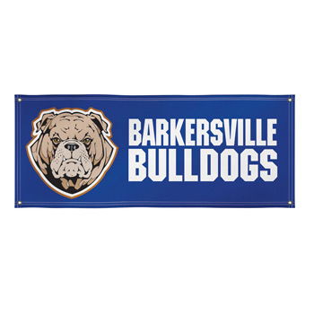 13 oz. Smooth Vinyl Single-Sided Banner - 4' x 10'