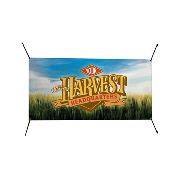 6'W x 3'H In-Ground Replacement Banner