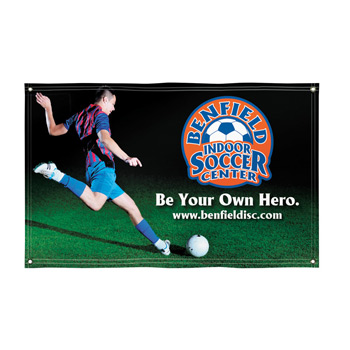Super Poly Knit Fabric Banner – 5' X 8'