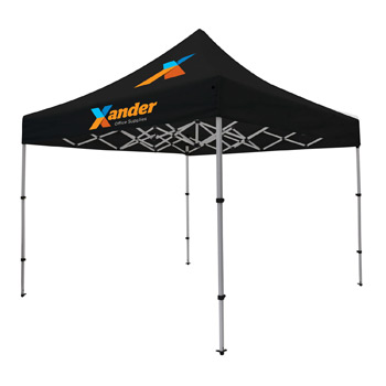 Compact 10' Tent Kit (Full-Color Imprint, Two Locations)