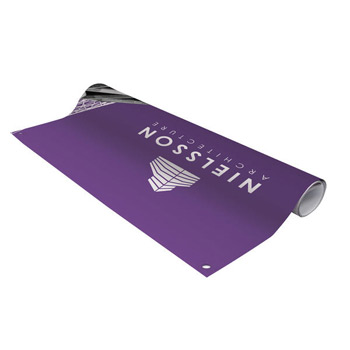 3' FrameWorx Tabletop Banner (No-Curl Opaque Fabric)